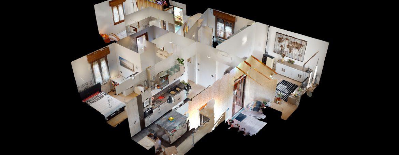 Appartamento-in-Bifamiliare-Fagnano-Olona-Dollhouse-View
