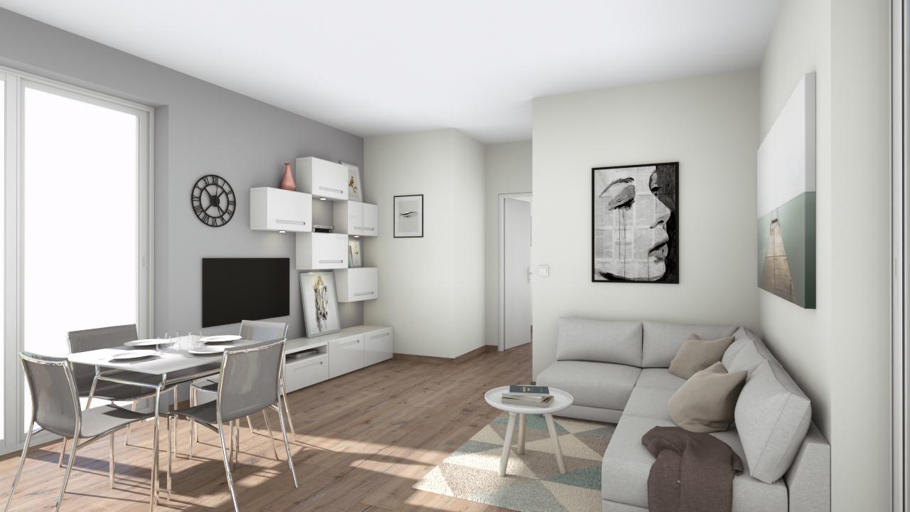Solbiate Olona in vendita appartamento con terrazzo